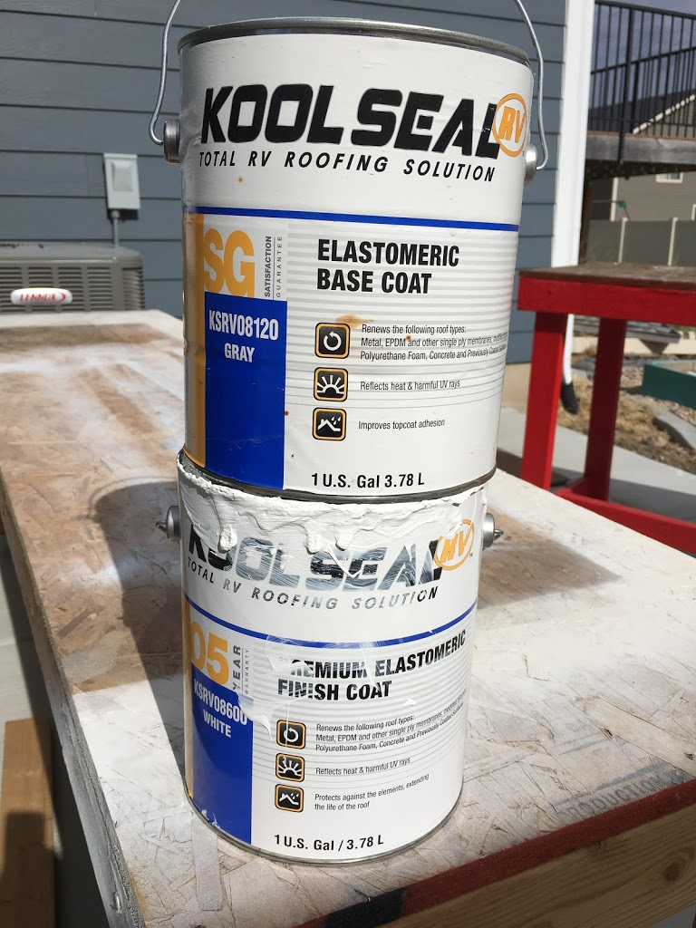Trailer – Resurfacing Roof, Replacing Roof Vents, Elastomeric Roof Coating For Metal Roofs